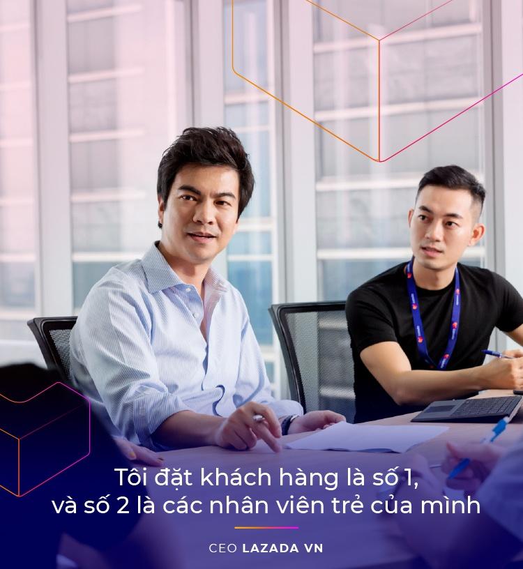 CEO Lazada VN: 'Lazada se lam thoa man duoc nhung tai nang tre' hinh anh 7