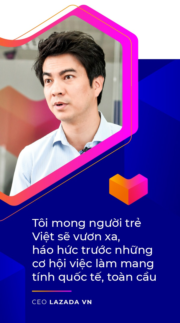 CEO Lazada VN: 'Lazada se lam thoa man duoc nhung tai nang tre' hinh anh 10