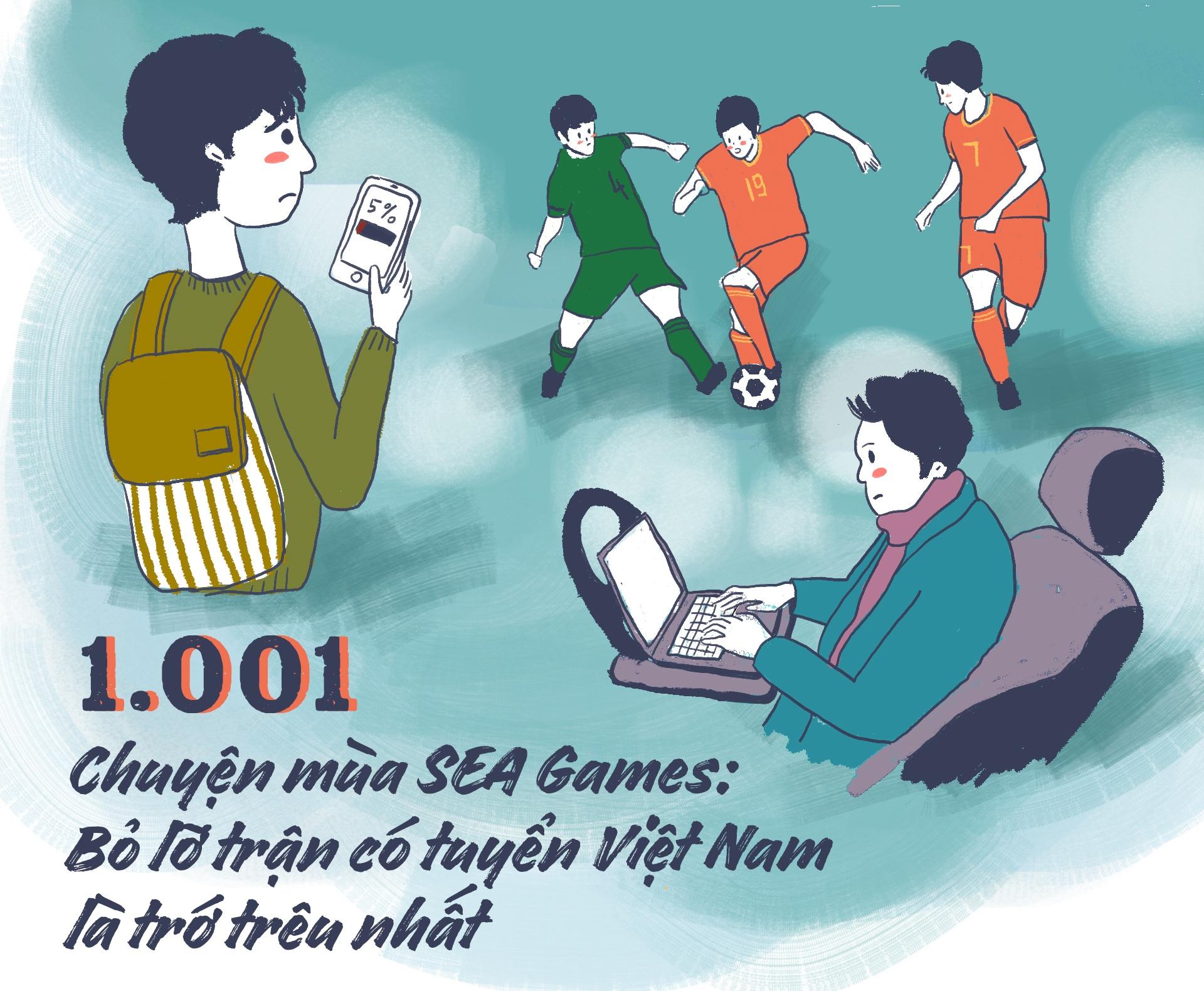 1.001 chuyen mua SEA Games: Bo lo tran co tuyen VN la tro treu nhat hinh anh 2