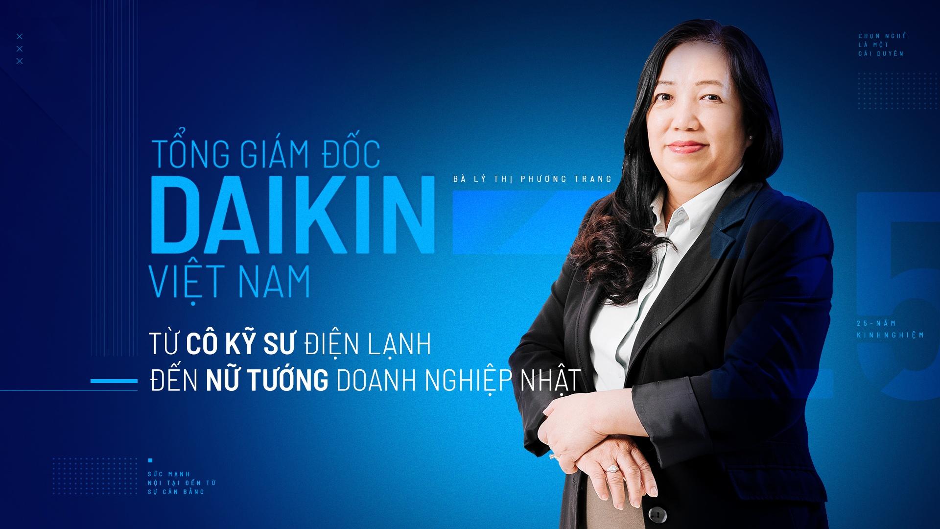 TGĐ Daikin Việt Nam – từ cô kỹ sư đến nữ tướng doanh nghiệp Nhật Cover