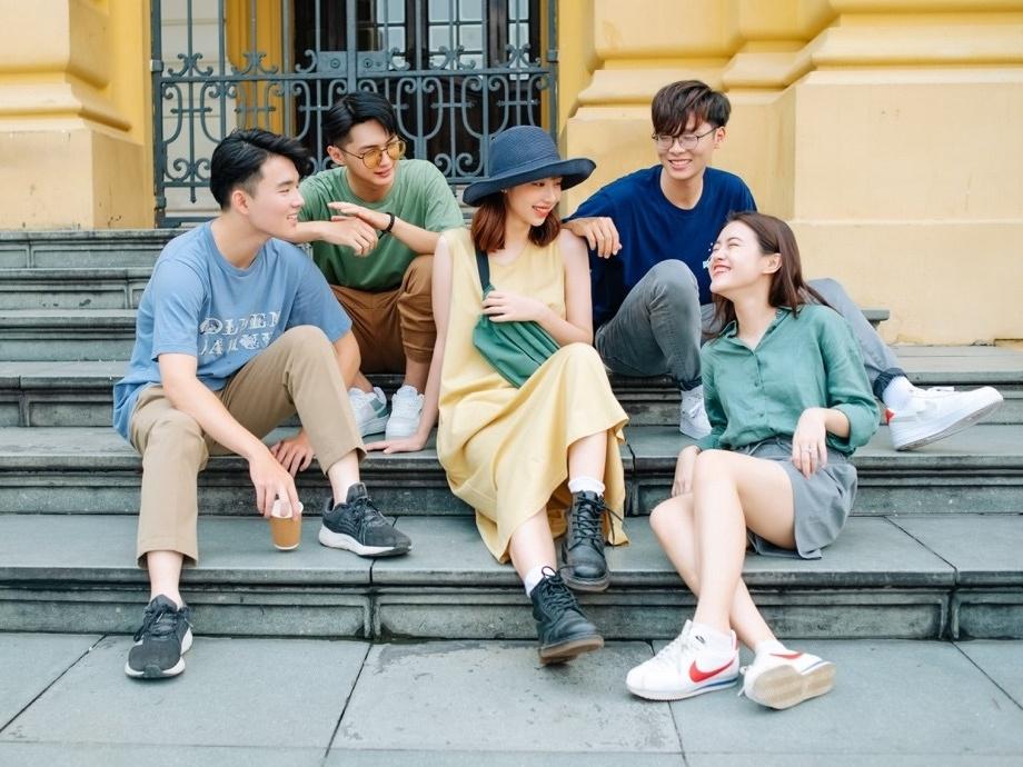 Những góc check-in mùa hè Hà Nội giúp gắn kết hội bạn thân