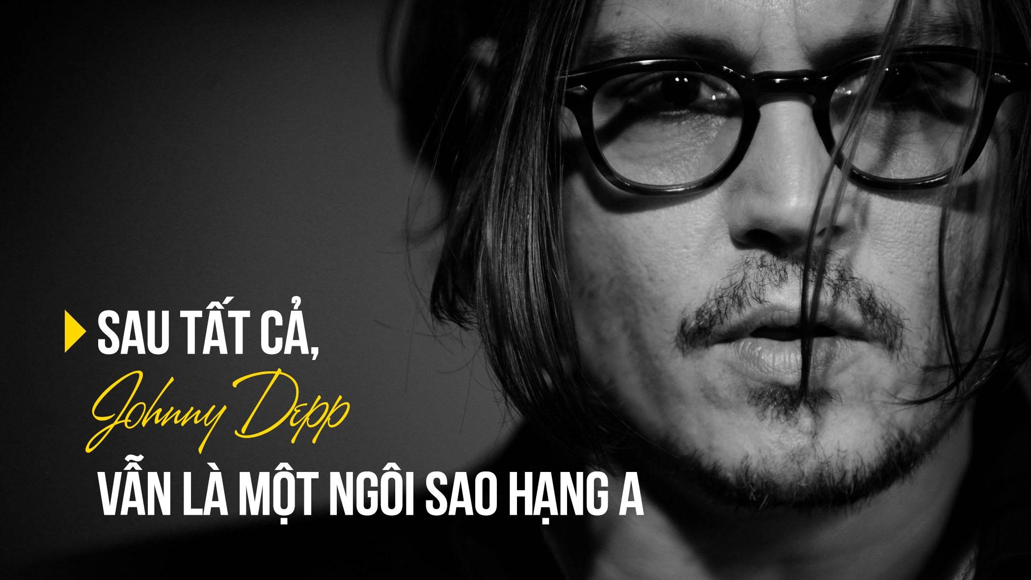 Sau tat ca, Johnny Depp van la mot ngoi sao hang A hinh anh 1