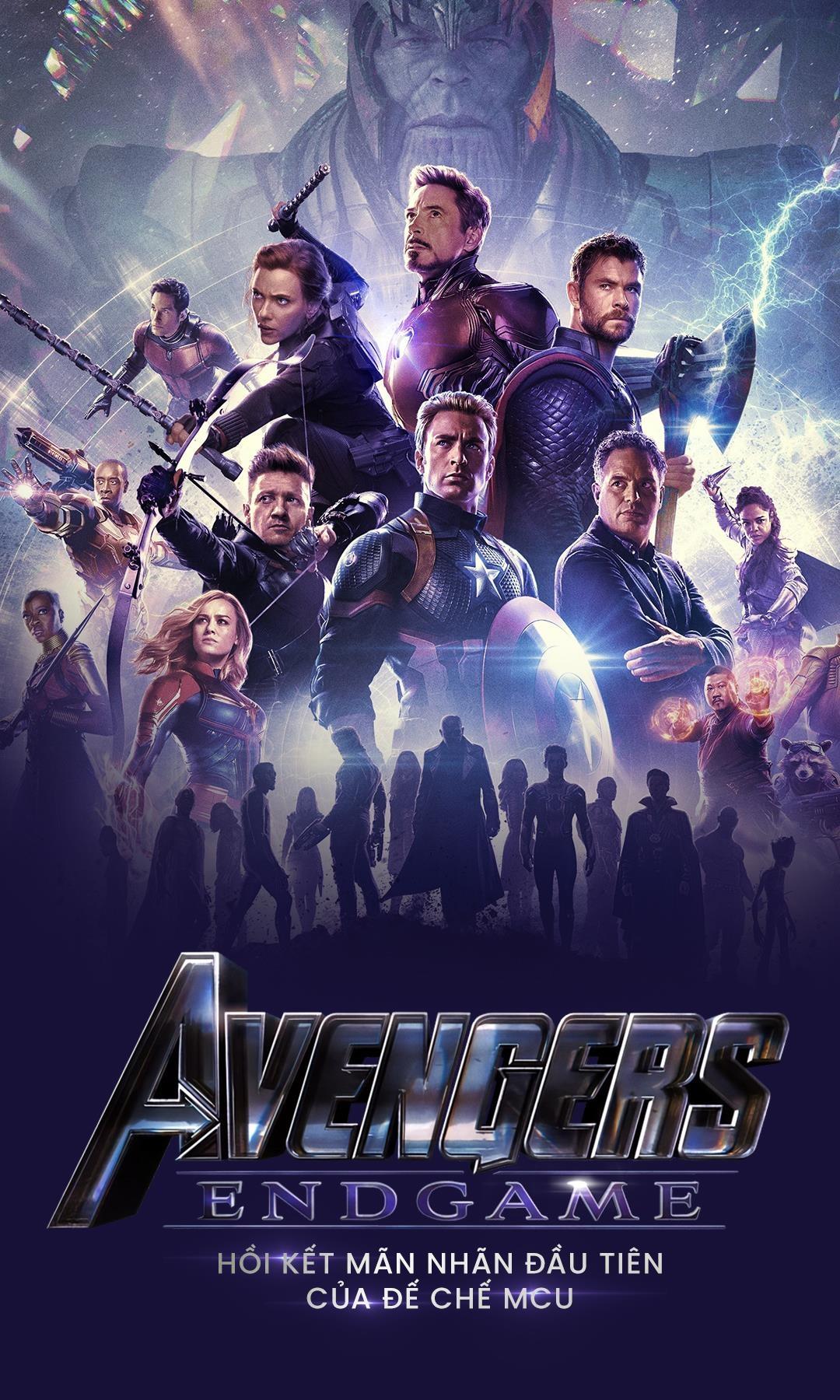 'Avengers: Endgame' - loi tam biet bi trang cua mot ky nguyen anh hung hinh anh 1