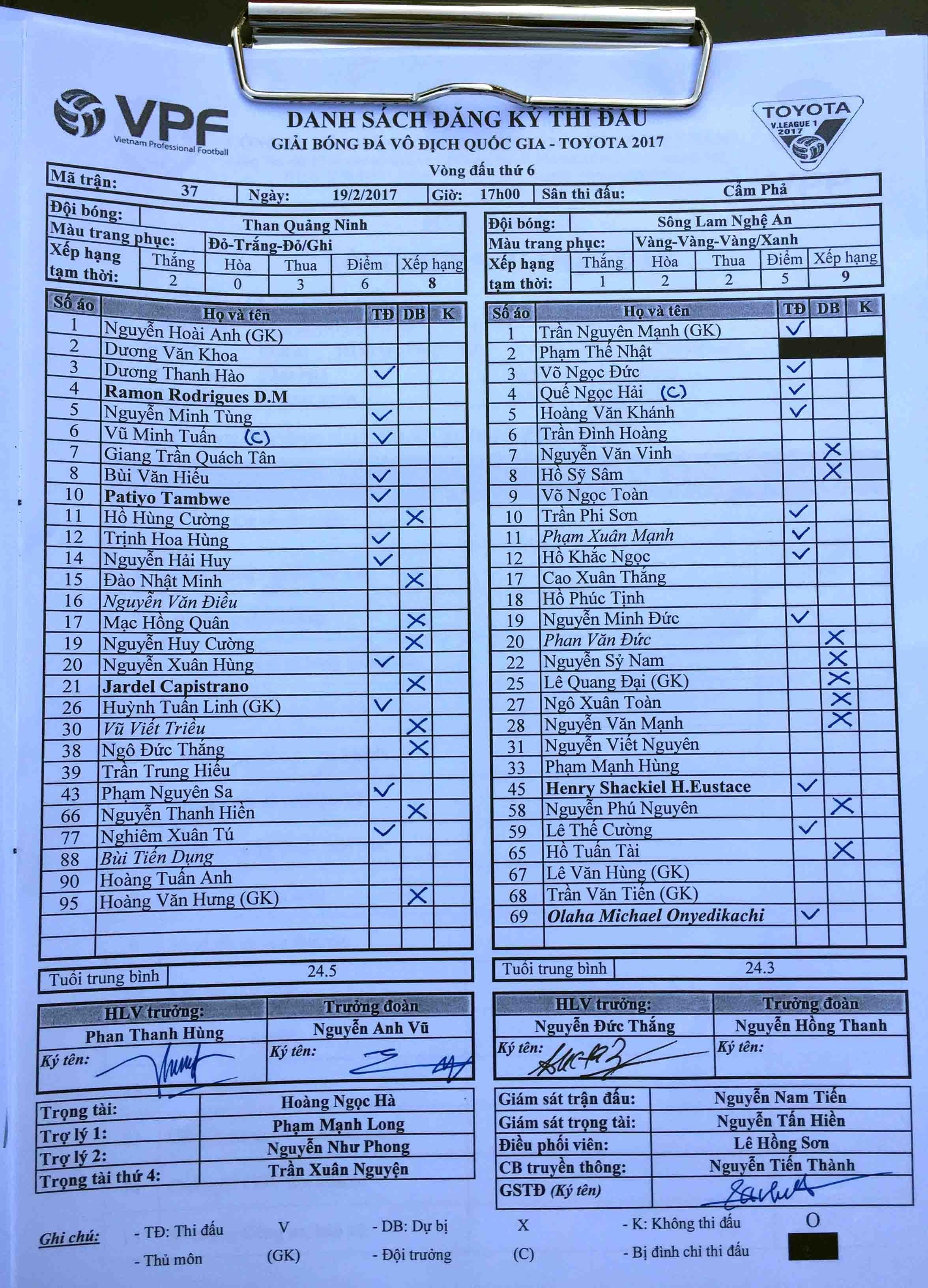 Quang Ninh vs SLNA anh 2