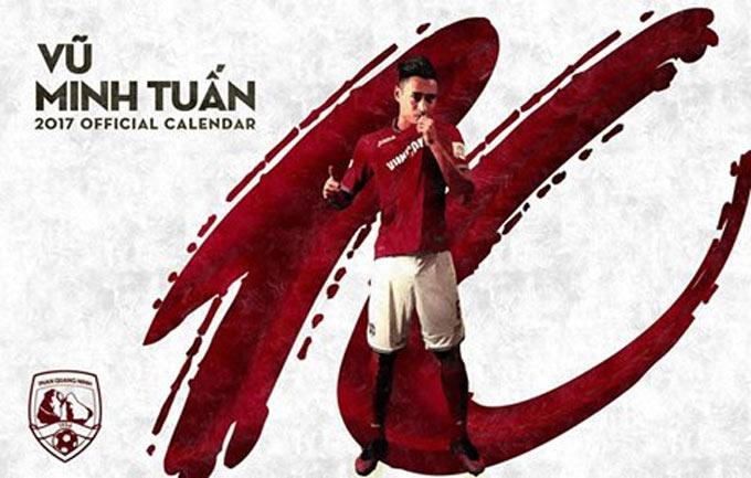 Quang Ninh vs SLNA anh 3