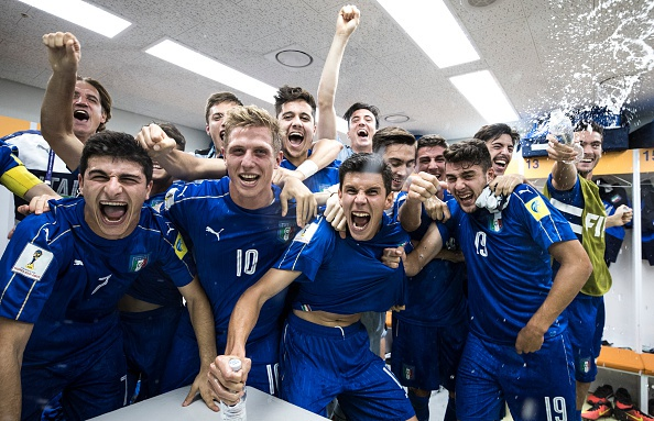 U20 Italy,  U20 Anh da tu ket anh 30