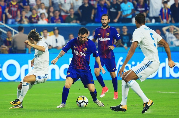 Real Madrid vs Barcelona anh 20