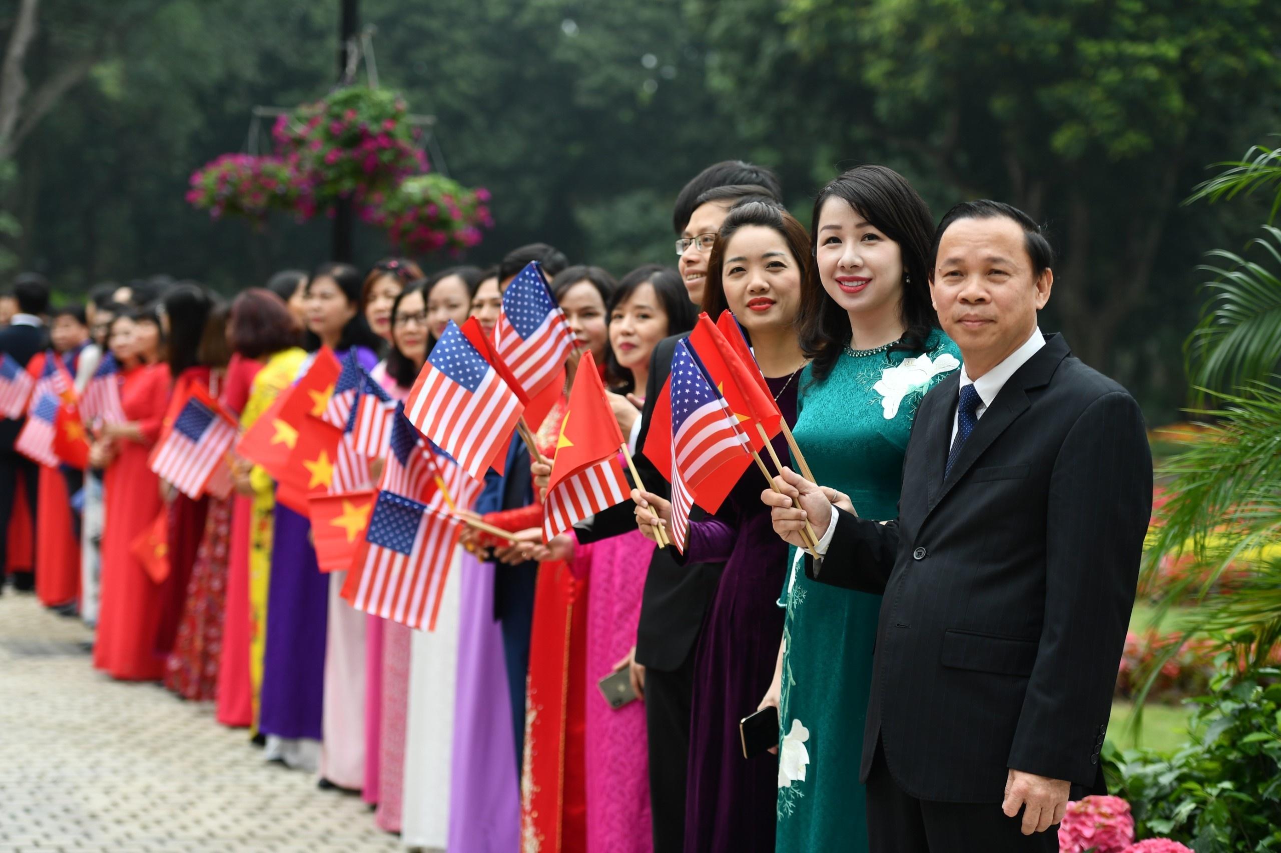 Tổng bí thư, Chủ tịch nước Nguyễn Phú Trọng gặp Tổng thống Trump