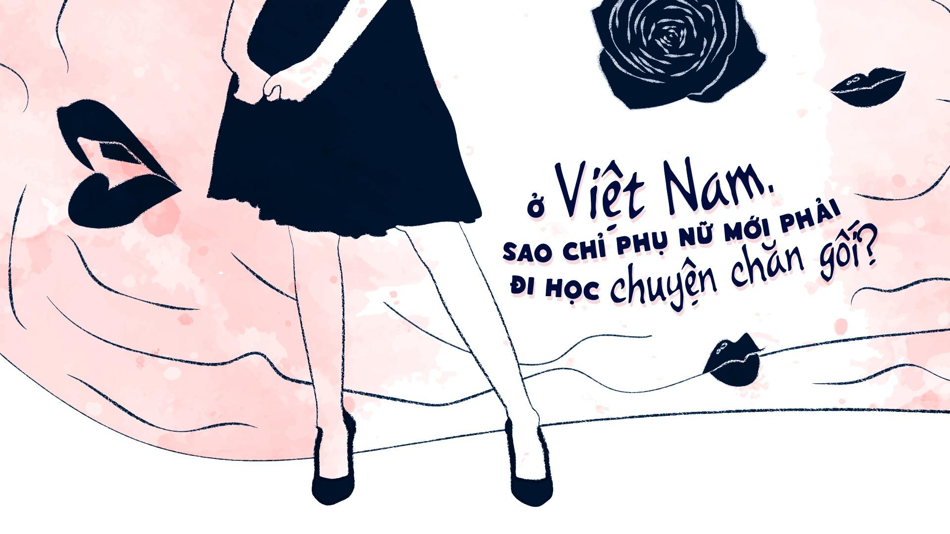 O Viet Nam, sao chi phu nu moi phai di hoc chuyen chan goi? hinh anh 2