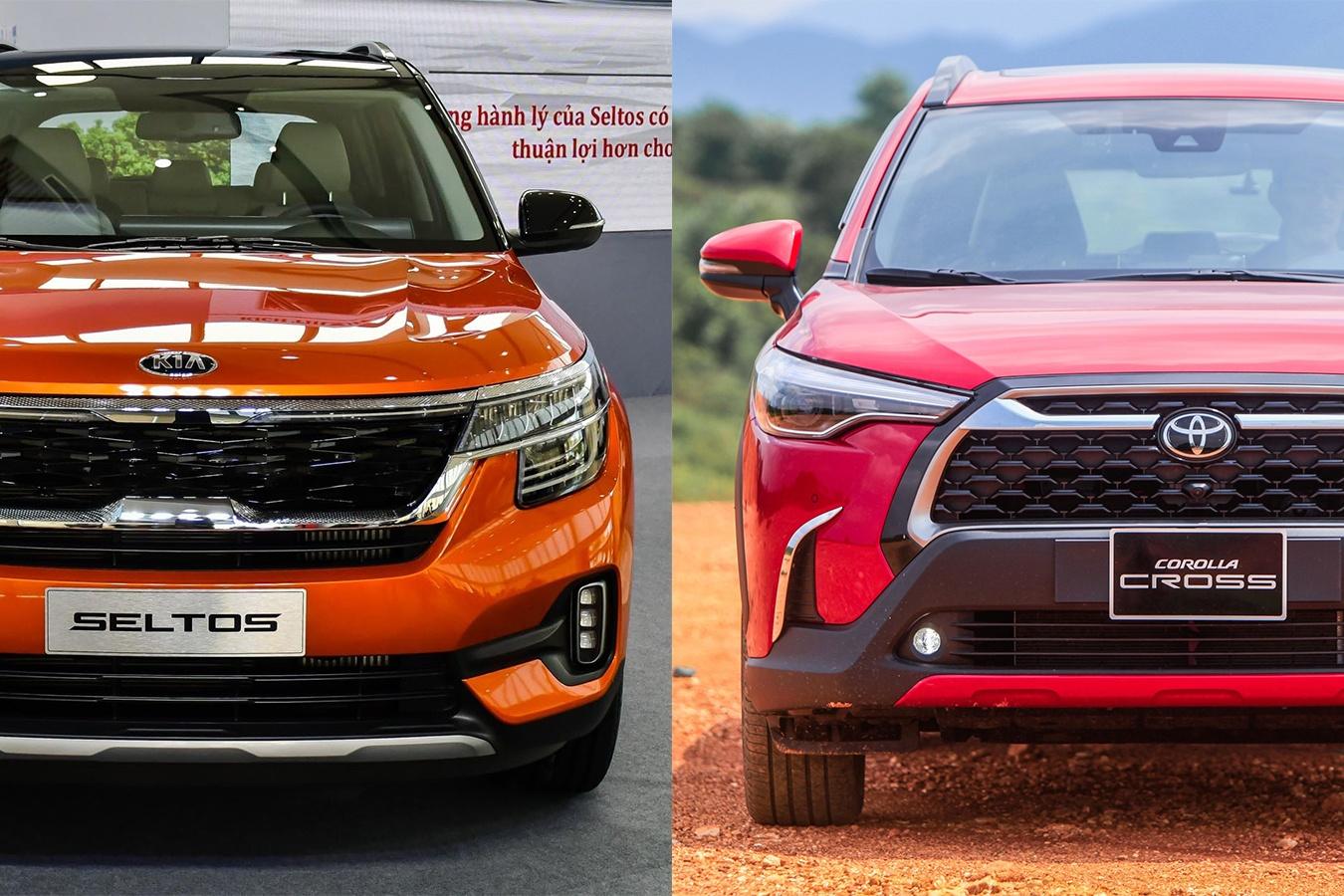 Chon Kia Seltos 1.4 Premium hay Toyota Corolla Cross 1.8V? anh 1