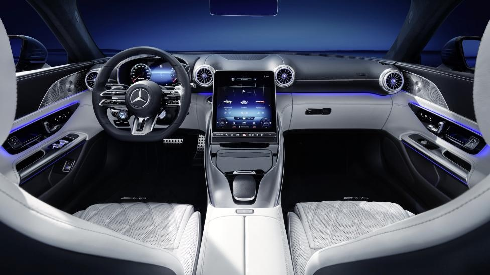 noi that xe the thao Mercedes-AMG SL anh 1