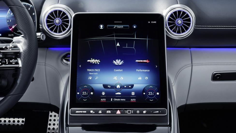 noi that xe the thao Mercedes-AMG SL anh 4