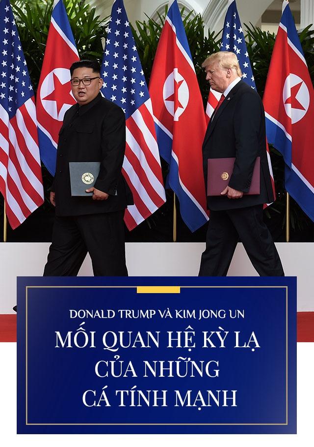 Trump - Kim gap nhau lan 2 anh 1