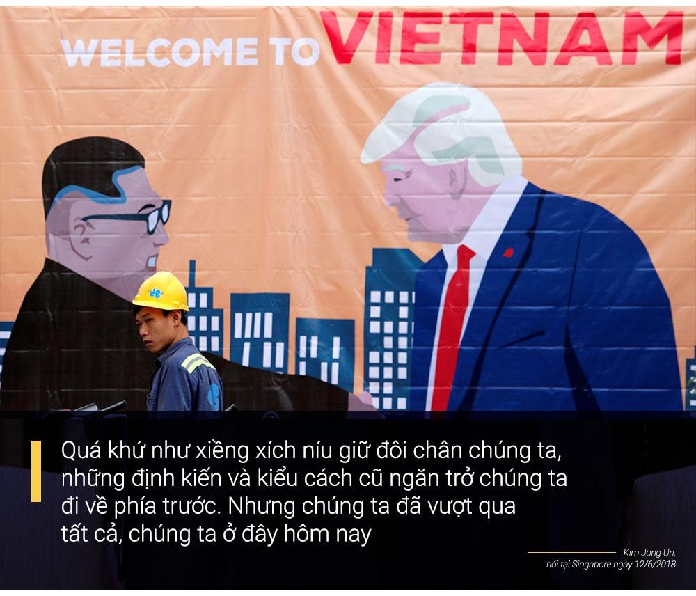 Trump - Kim gap nhau lan 2 anh 13