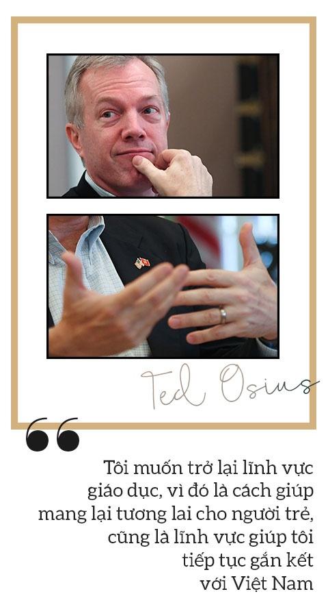 DS Ted Osius: Tiep tuc o lai lam giao duc va nhung chia se rieng tu hinh anh 3