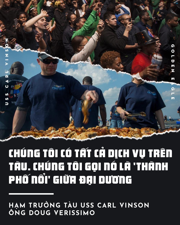 USS Carl Vinson toi Da Nang: Uy luc 'phao dai noi' tren bien hinh anh 4