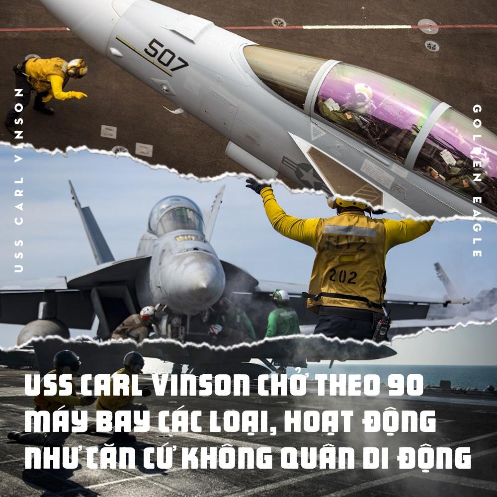 USS Carl Vinson toi Da Nang: Uy luc 'phao dai noi' tren bien hinh anh 7