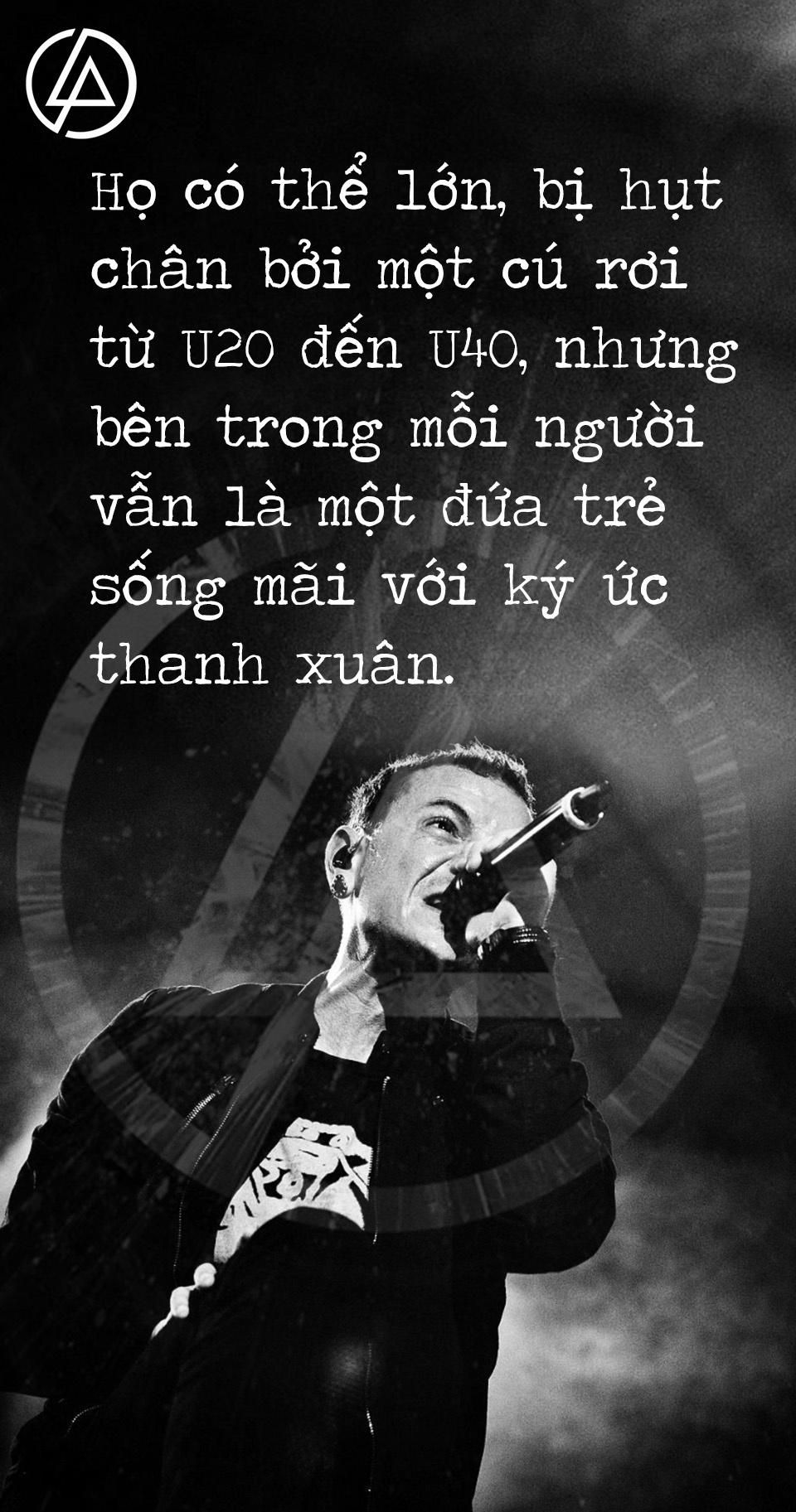 Linkin Park: Thanh am tuoi tre cua mot the he fan Viet hinh anh 6
