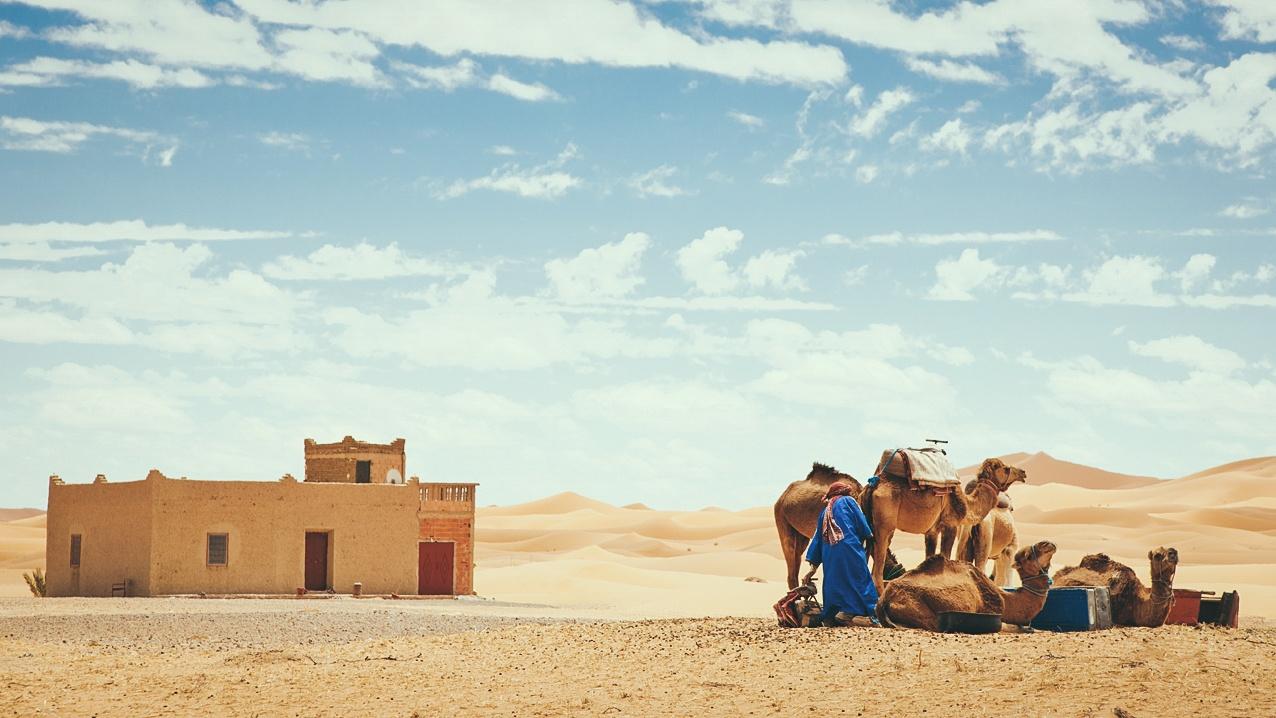 Morocco - toa lau dai cu ky va nhung o cua day sac mau hinh anh 7
