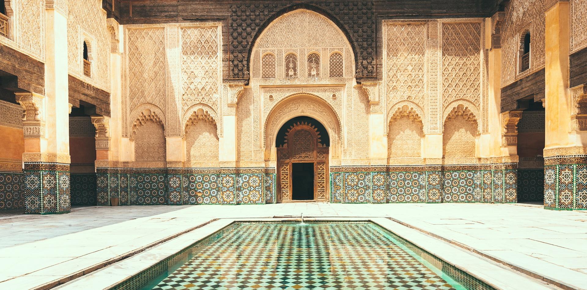 Morocco - toa lau dai cu ky va nhung o cua day sac mau hinh anh 12