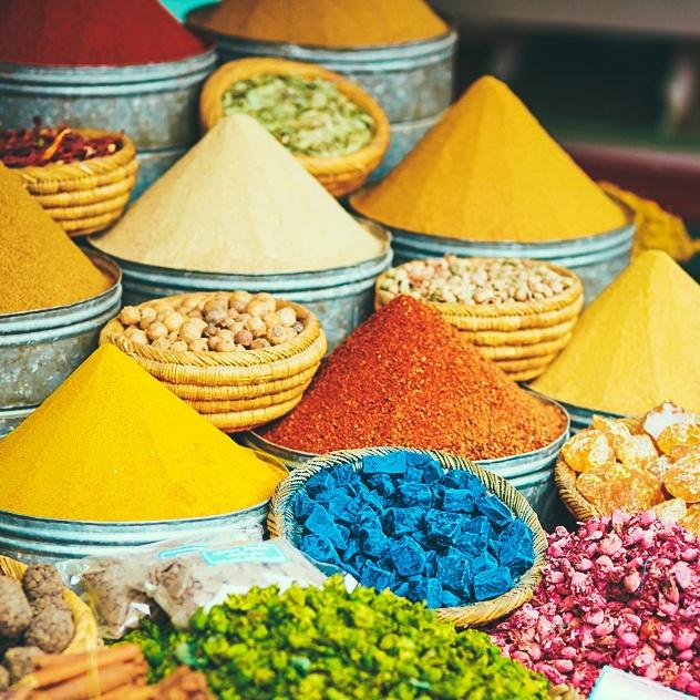 Morocco - toa lau dai cu ky va nhung o cua day sac mau hinh anh 15