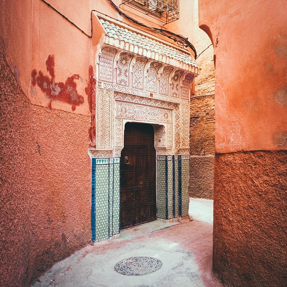 Morocco - toa lau dai cu ky va nhung o cua day sac mau hinh anh 3