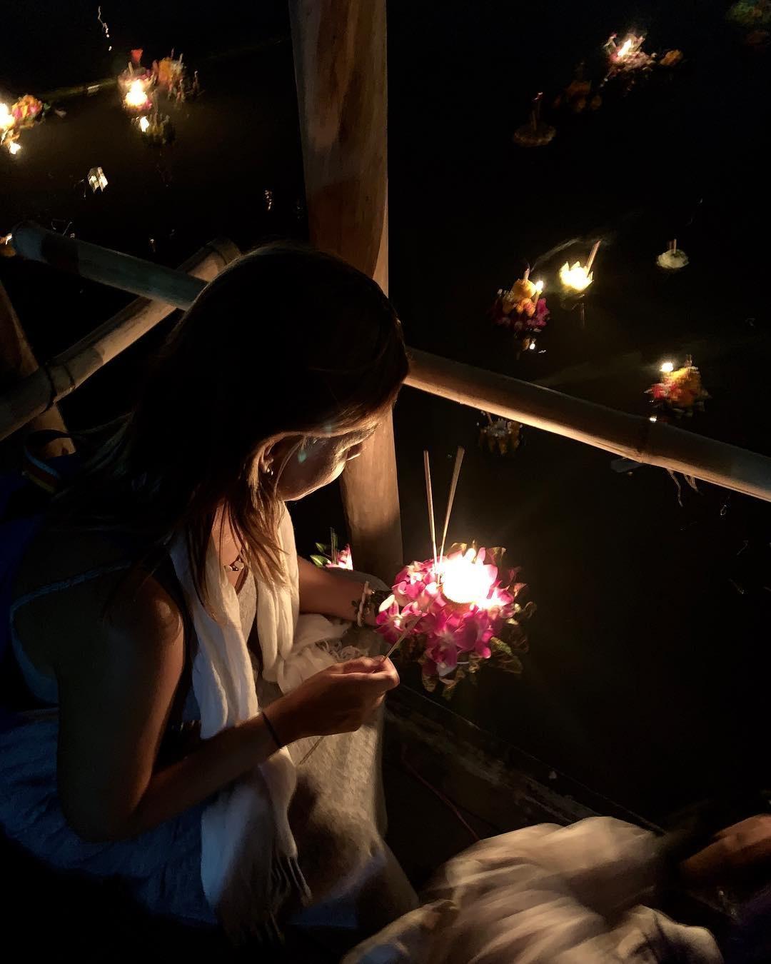 Troi dem Chiang Mai huyen ao trong le hoi den troi Yee Peng hinh anh 9
