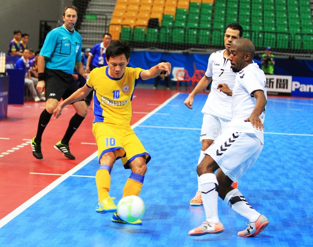 Sanna Khanh Hoa thang Al Sadd 3-2 anh 3