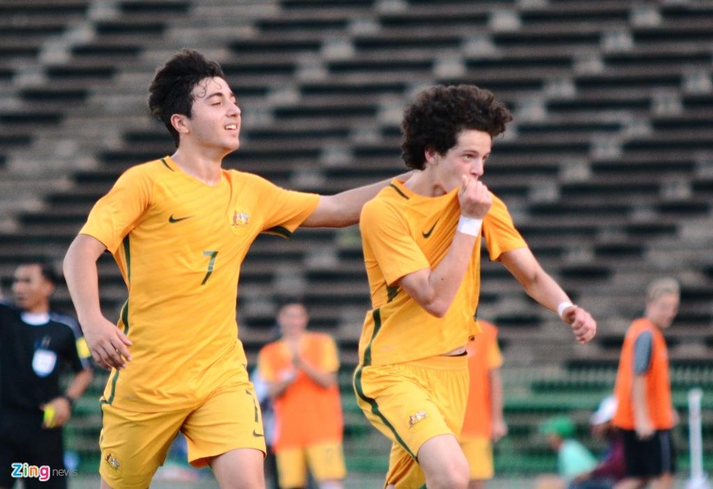 U16 Australia thang kich tinh Thai Lan hinh anh 2