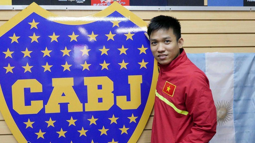 Tuyen futsal Viet Nam sang Colombia du World Cup hinh anh 4