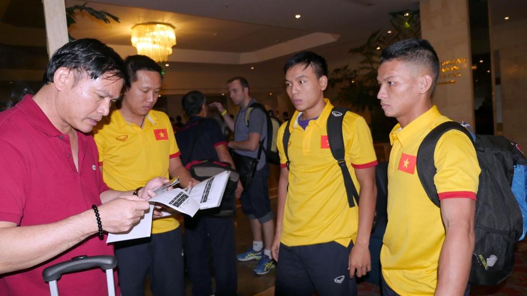 Tuyen futsal Viet Nam o khach san 5 sao tai Colombia hinh anh 5