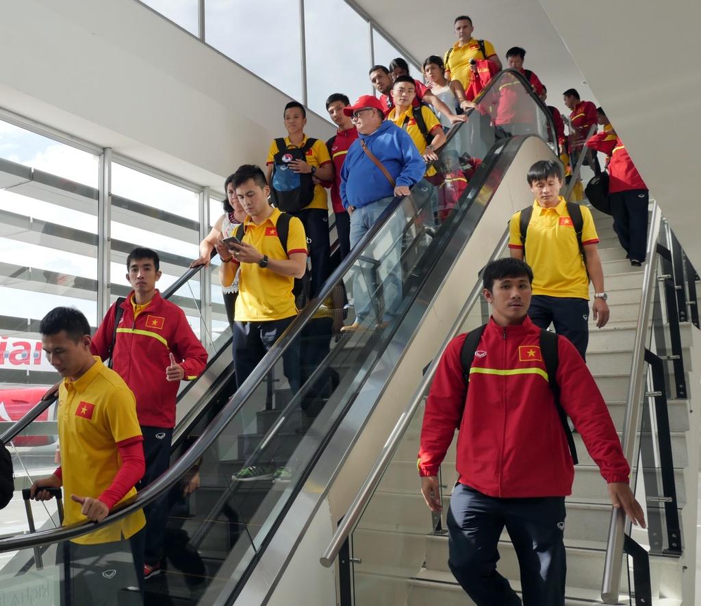 Tuyen futsal Viet Nam o khach san 5 sao tai Colombia hinh anh 2