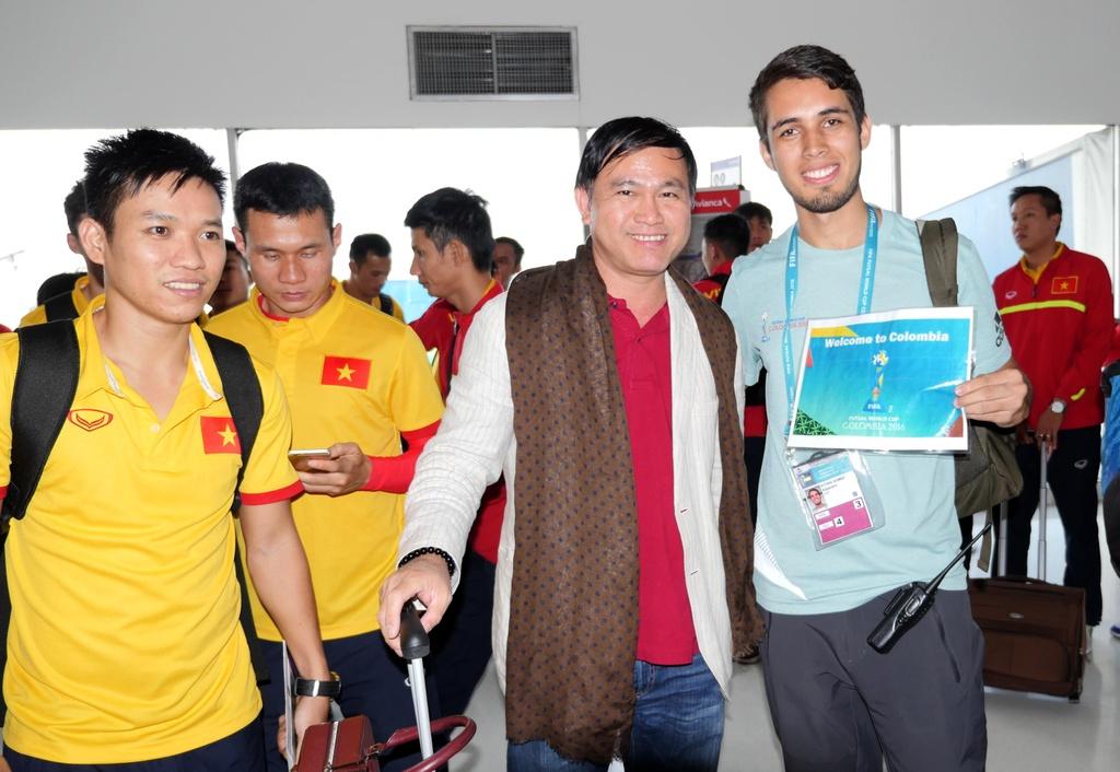 Tuyen futsal Viet Nam den Colombia anh 6