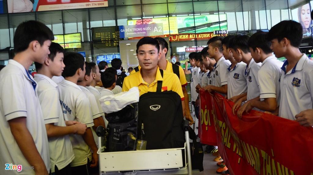 Tuyen futsal Viet Nam ve TP HCM anh 2