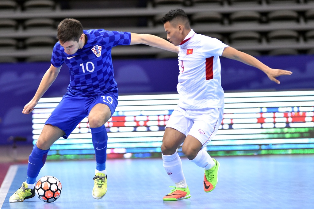 Tuyen futsal Viet Nam thua Croatia 1-3 anh 4