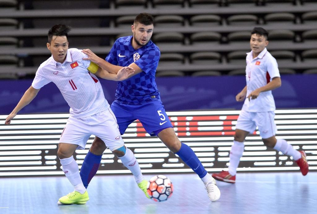 Tuyen futsal Viet Nam thua Croatia 1-3 anh 8