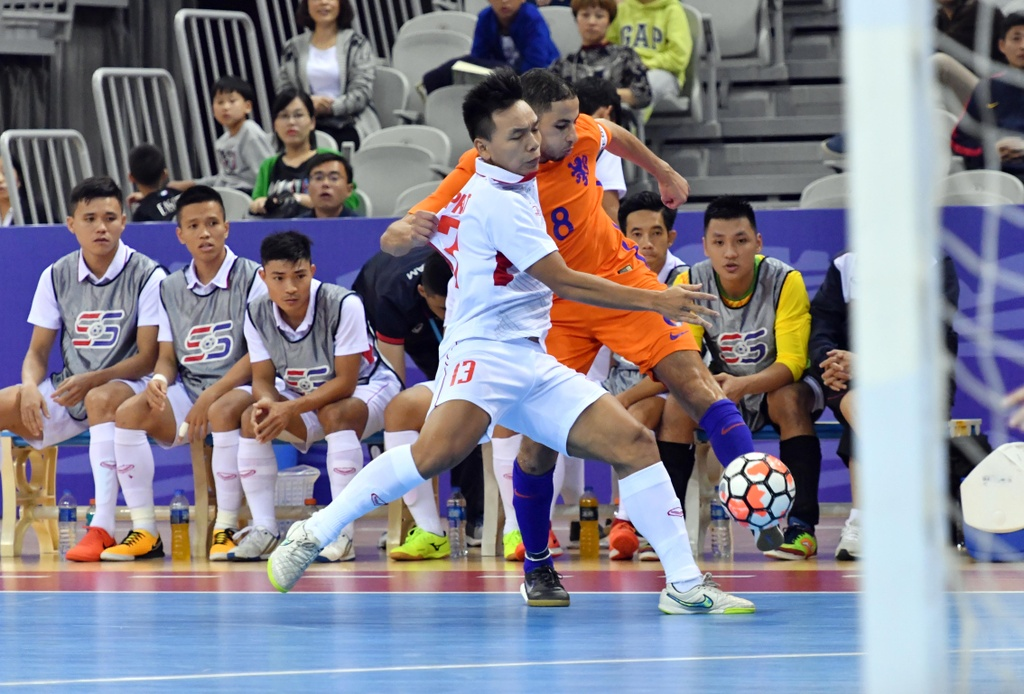Futsal Viet Nam hoa Ha Lan 2-2 anh 8
