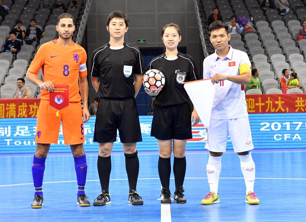 Futsal Viet Nam hoa Ha Lan 2-2 anh 1