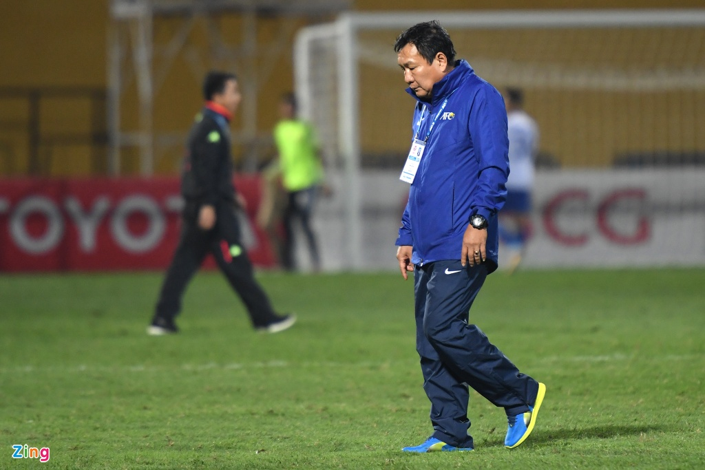 Bau Hien dong vien Quang Nam sau tran thua CLB Ha Noi hinh anh 4