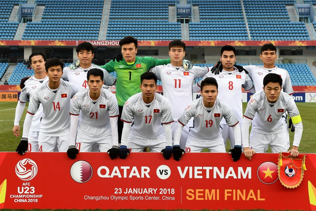 U23 Viet Nam thua U23 Qatar anh 1