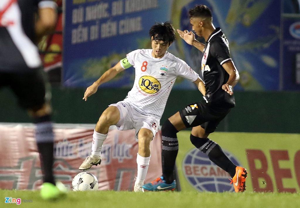 Thieu Cong Phuong, Xuan Truong, HAGL thua CLB Brazil tai BTV Cup hinh anh 9