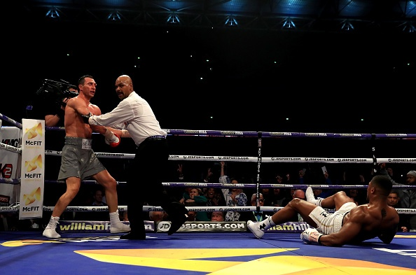Anthony Joshua ha knock-out Wladimir Klitschko anh 2