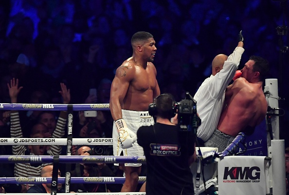 Anthony Joshua ha knock-out Wladimir Klitschko anh 3