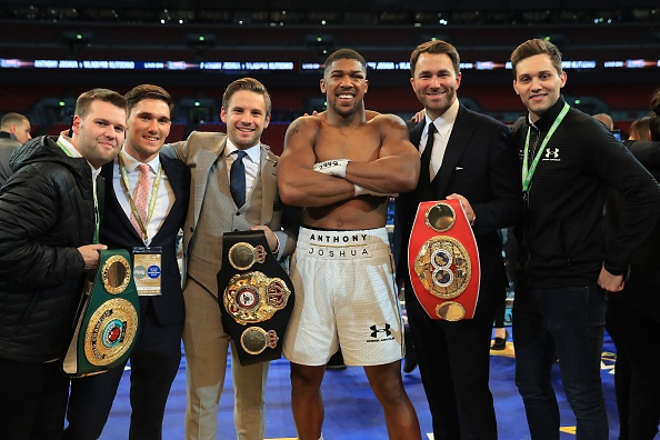 Anthony Joshua ha knock-out Wladimir Klitschko anh 5