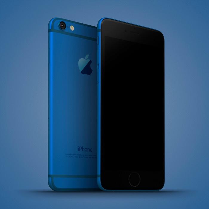Anh dung iPhone 6C nhieu mau sac, dang giong 6S hinh anh 2