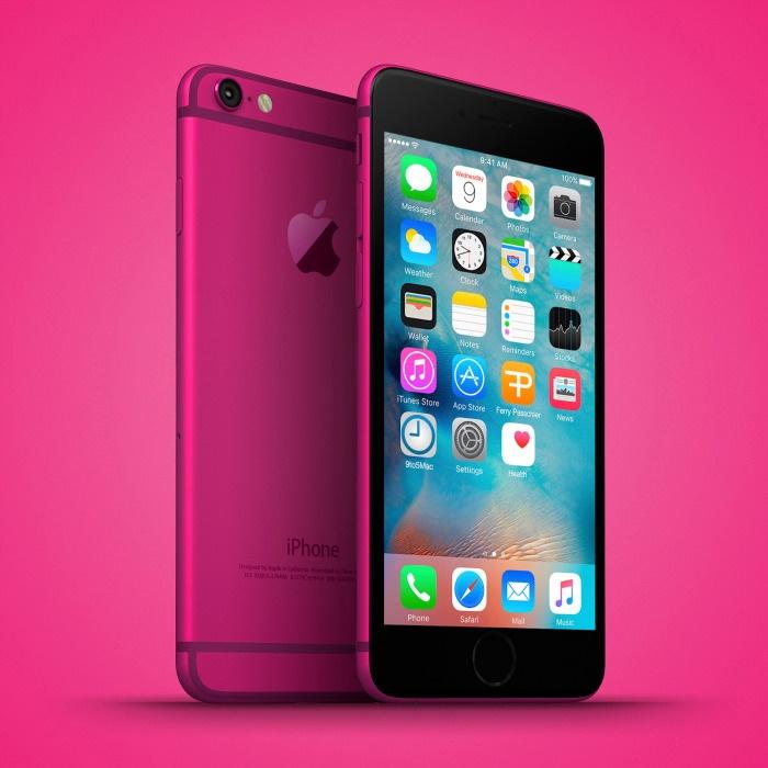 Anh dung iPhone 6C nhieu mau sac, dang giong 6S hinh anh 5