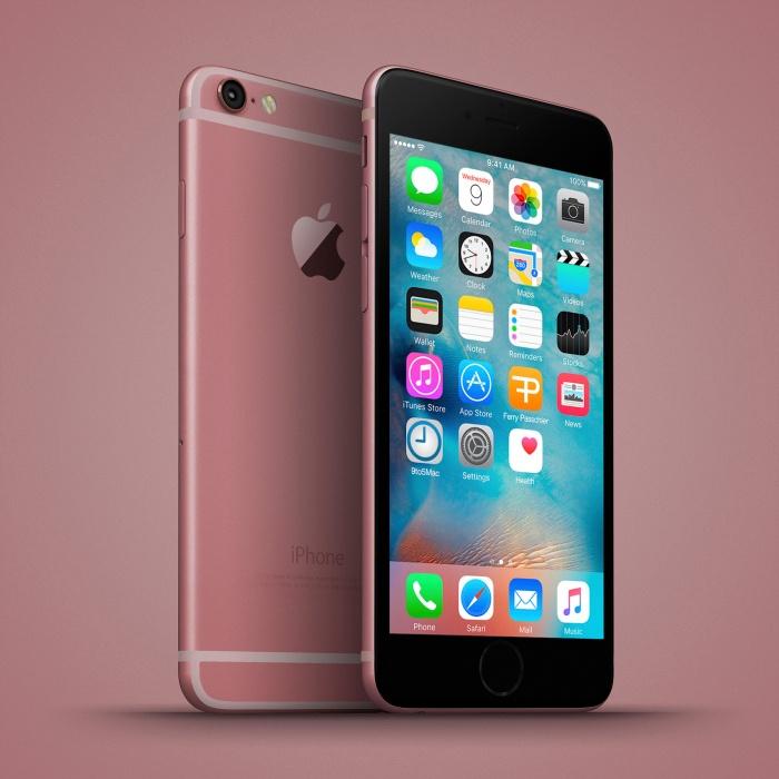 Anh dung iPhone 6C nhieu mau sac, dang giong 6S hinh anh 6