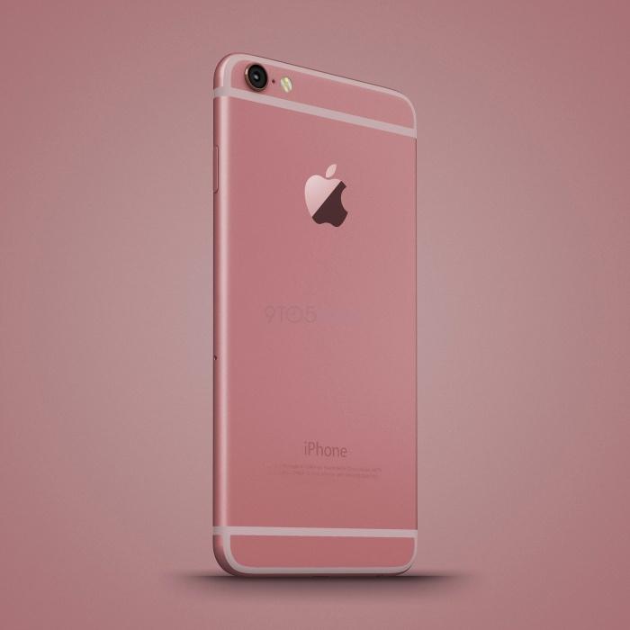 Anh dung iPhone 6C nhieu mau sac, dang giong 6S hinh anh 8