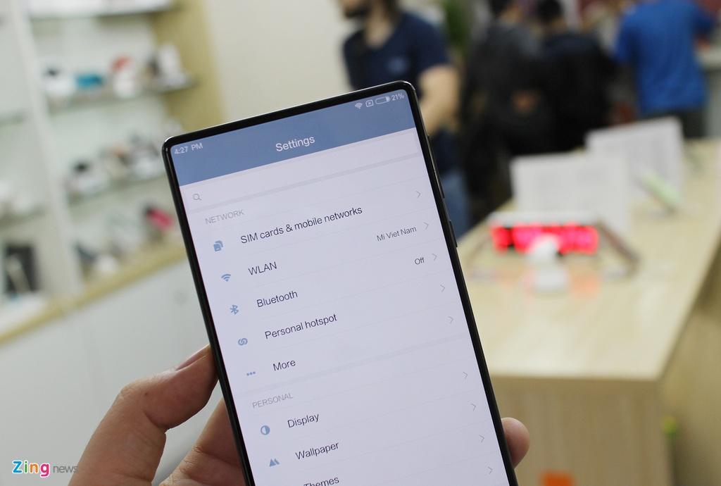 Xiaomi Mi Mix ve Viet Nam anh 7