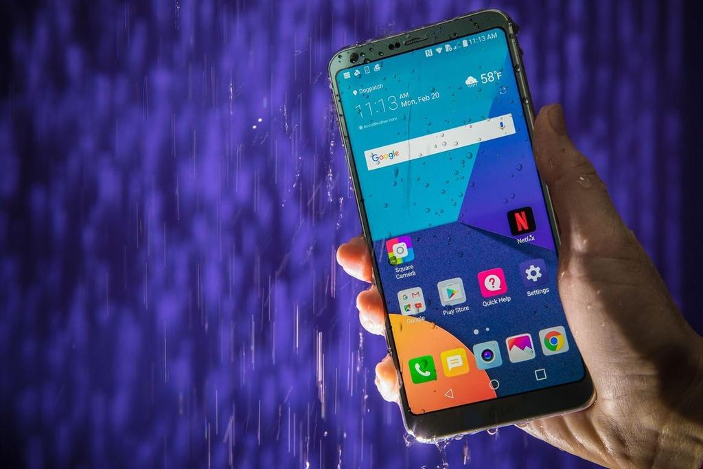Anh thuc te LG G6: Ong vua dien thoai Android moi? hinh anh 1